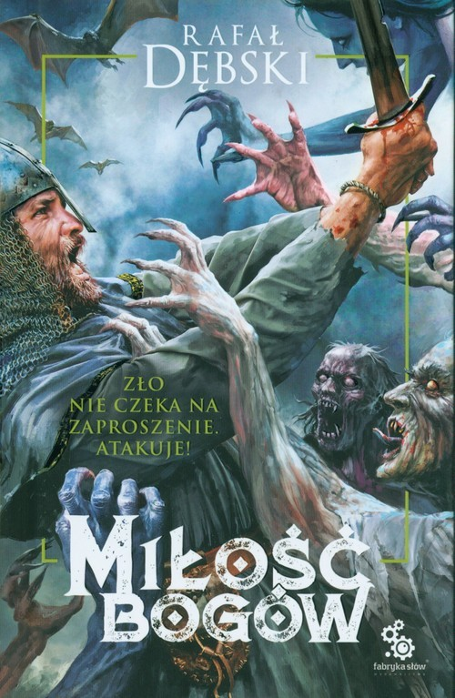 okładka Miłość bogów, Książka | Rafał Dębski