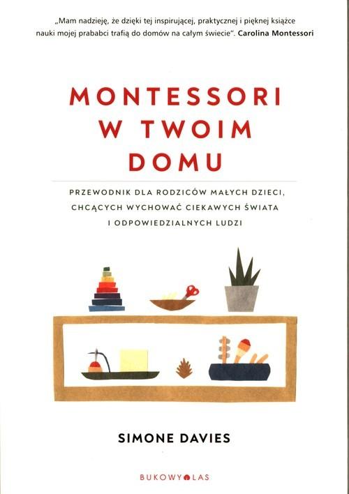 okładka Montessori w twoim domu, Książka | Davis Simone