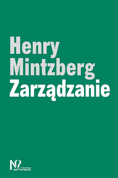 okładka Zarządzanie, Książka | Mintzberg Henry