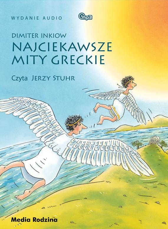 okładka Najciekawsze mity greckieaudiobook | MP3 | Dimiter Inkiow