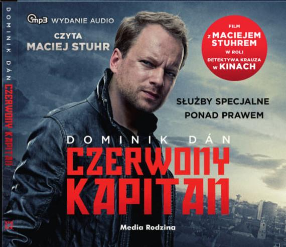 okładka Czerwony kapitan, Audiobook | Dominik Dan
