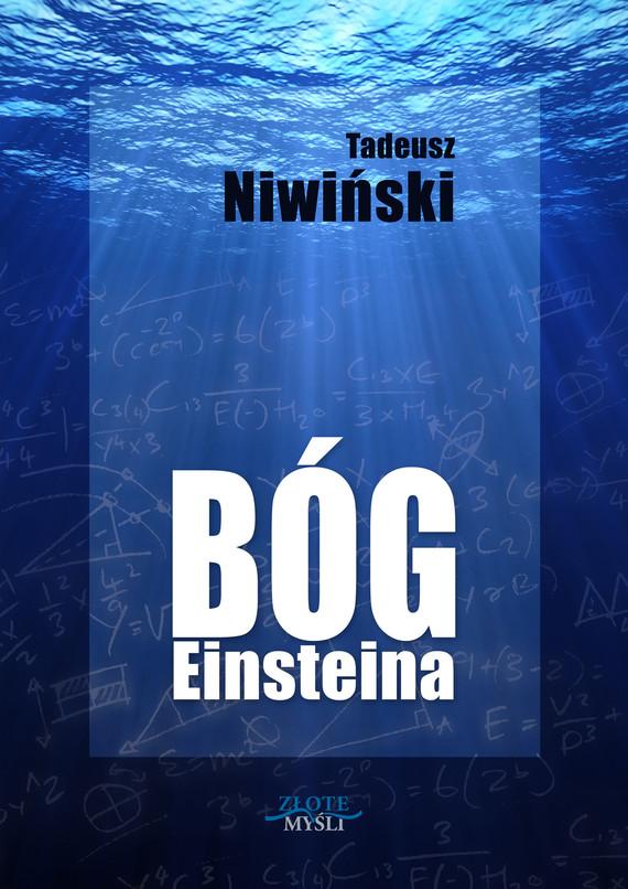 okładka Bóg Einsteina, Audiobook   Tadeusz Niwiński