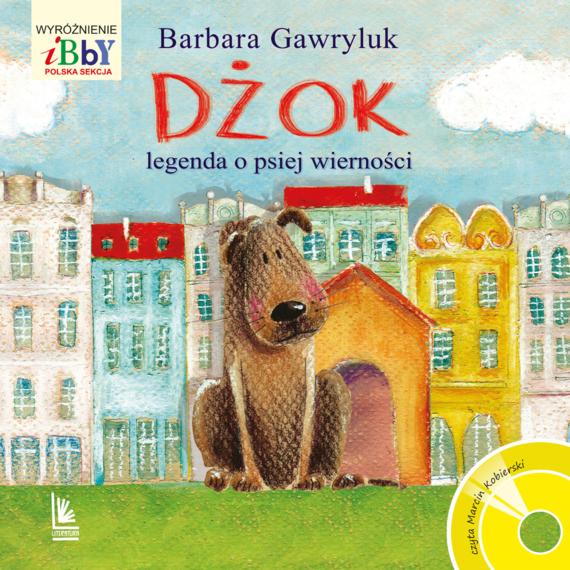 okładka Dżok, legenda o psiej wierności, Audiobook   Barbara  Gawryluk