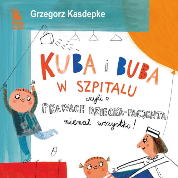 okładka Kuba i Buba w szpitaluaudiobook   MP3   Grzegorz Kasdepke