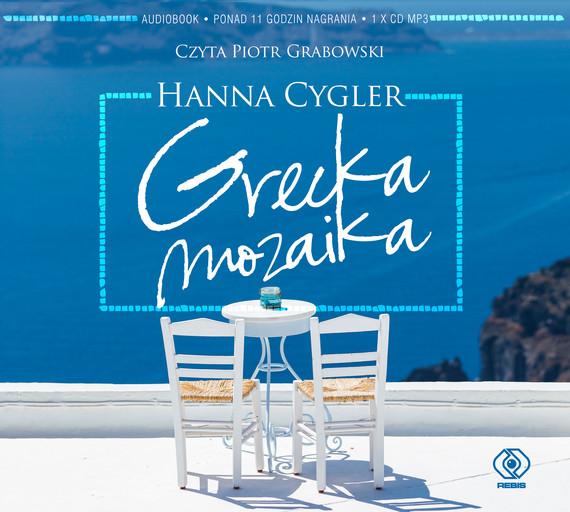 okładka Grecka mozaikaaudiobook   MP3   Hanna Cygler