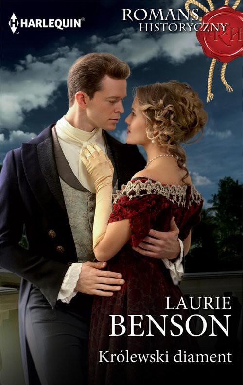 okładka Królewski diament, Książka | Benson Laurie