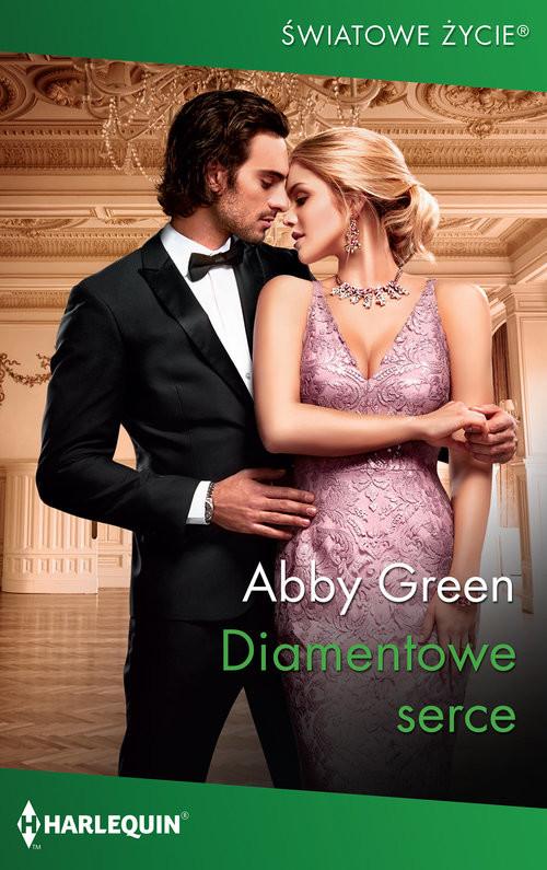 okładka Diamentowe serce, Książka | Green Abby