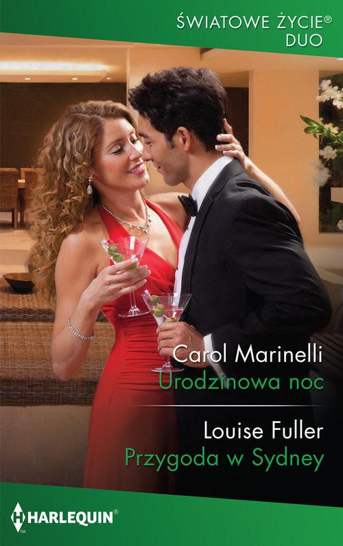 okładka Urodzinowa noc, Książka | Marinelli Carol