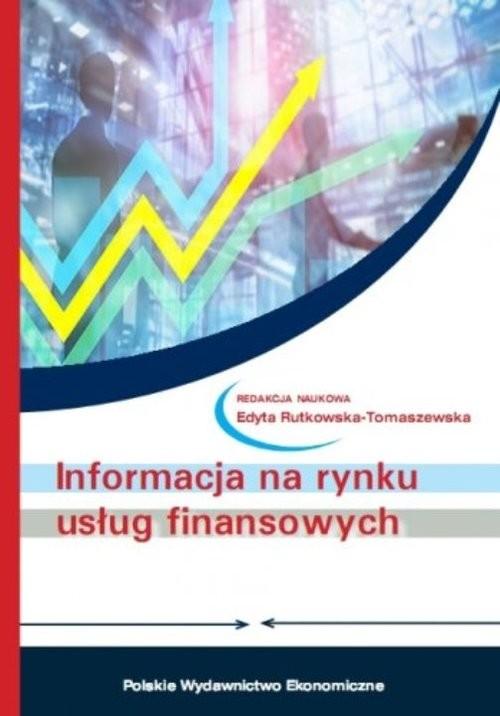 okładka Informacja na rynku usług finansowych, Książka |