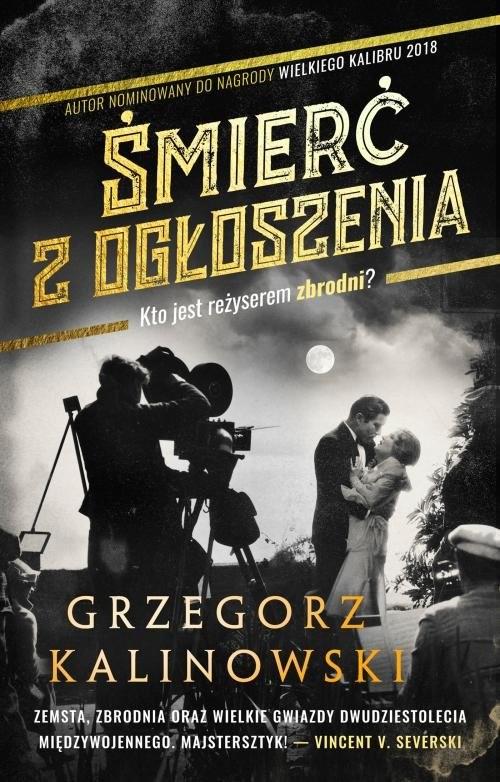 okładka Śmierć z ogłoszenia, Książka | Grzegorz Kalinowski