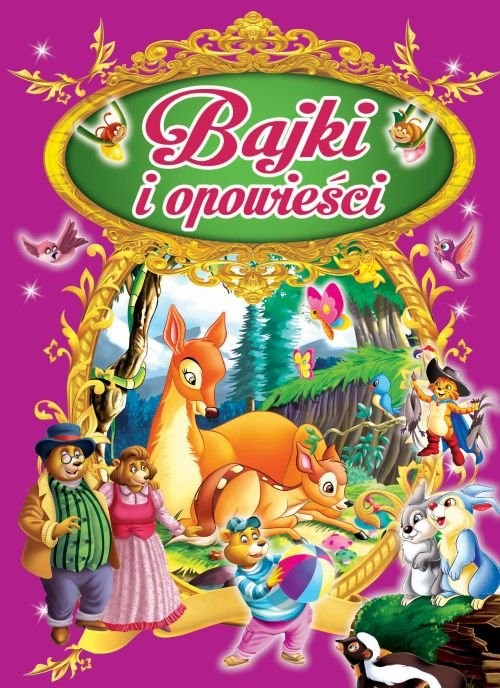 okładka Bajki i opowieści, Książka | Praca Zbiorowa