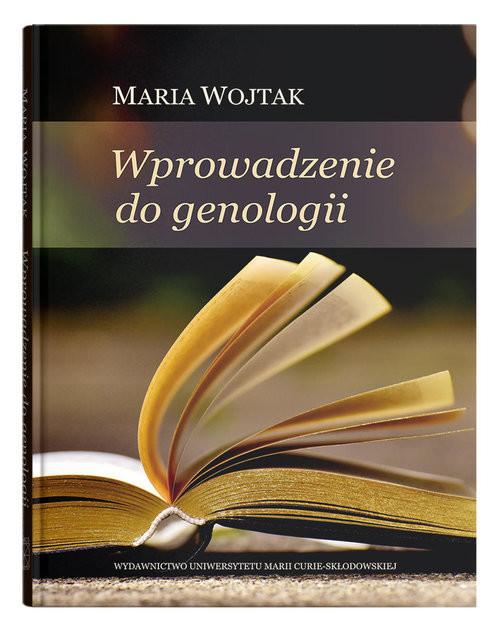 okładka Wprowadzenie do genologii, Książka | Wojtak Maria