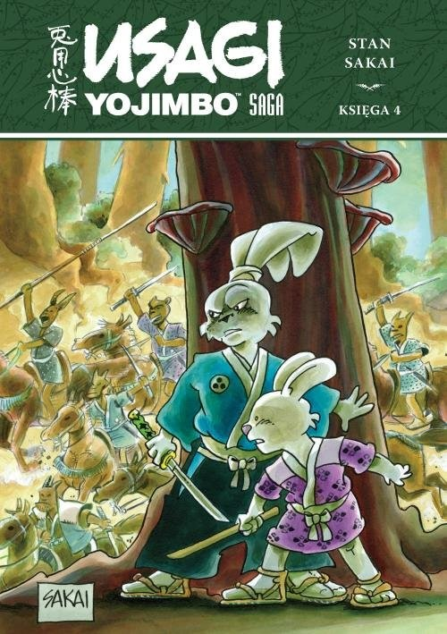 okładka Usagi Yojimbo Saga księga 4, Książka |