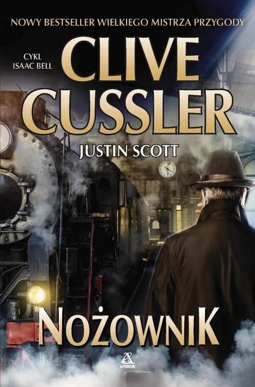 okładka Nożownik, Książka | Cussler Clive, Justin Scott