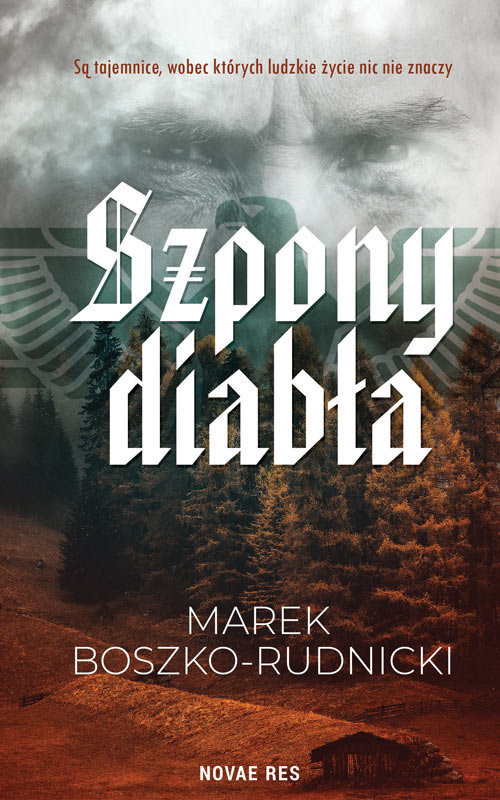 okładka Szpony diabła, Książka | Marek Boszko-Rudnicki