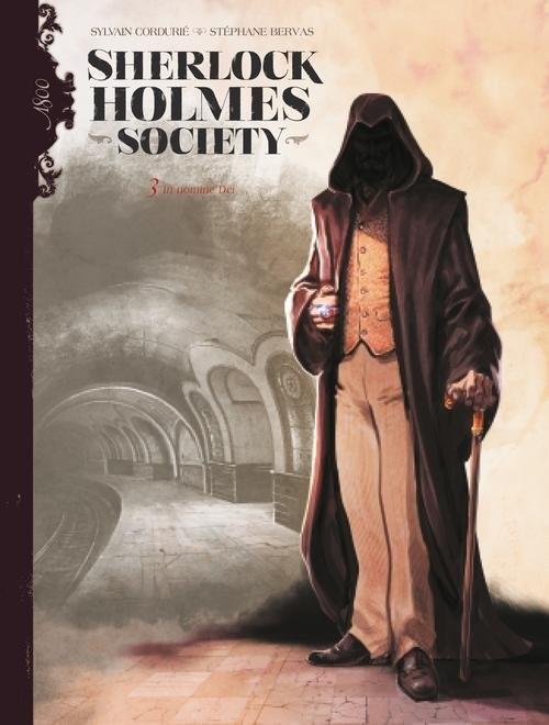 okładka Sherlock Holmes Society T.3 In nomine Dei, Książka | Cordurié Sylvain