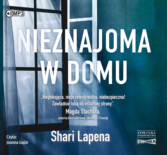 okładka Nieznajoma w domu, Audiobook   Shari Lapeña