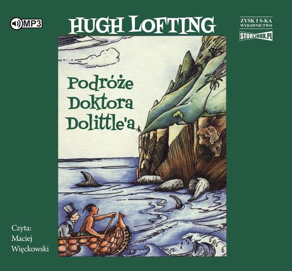 okładka Podróże doktora Dolittle, Audiobook | Hugh Lofting