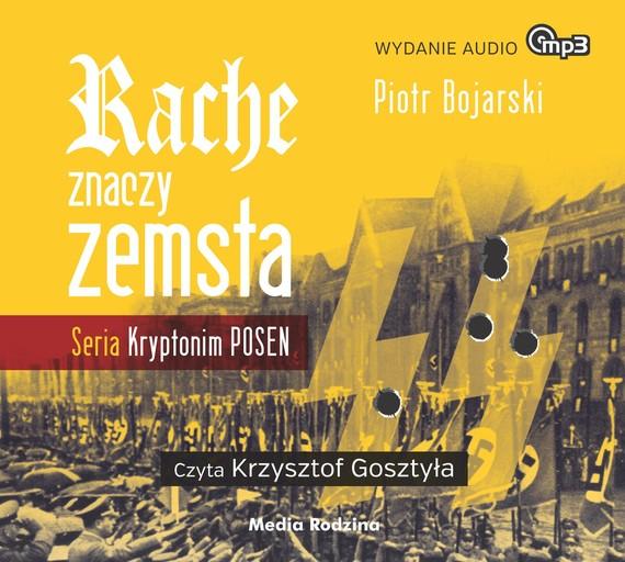 okładka Rache znaczy zemsta, Audiobook | Piotr Bojarski