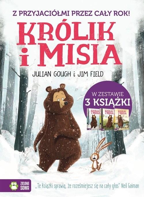 okładka Królik i misia Pakiet (3 tytuły), Książka | Julian Gough, Jim Field
