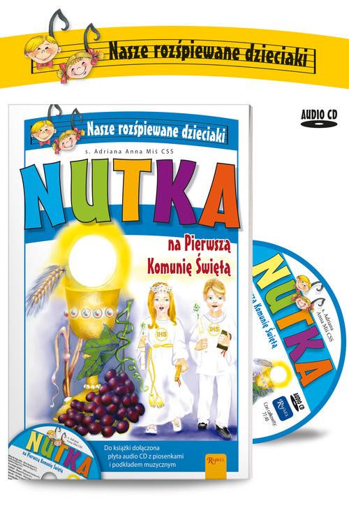 okładka Nutka na Pierwszą Komunię Świętą, Książka | Miś Adriana