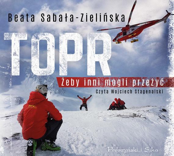 okładka TOPR, Audiobook   Beata  Sabała-Zielińska