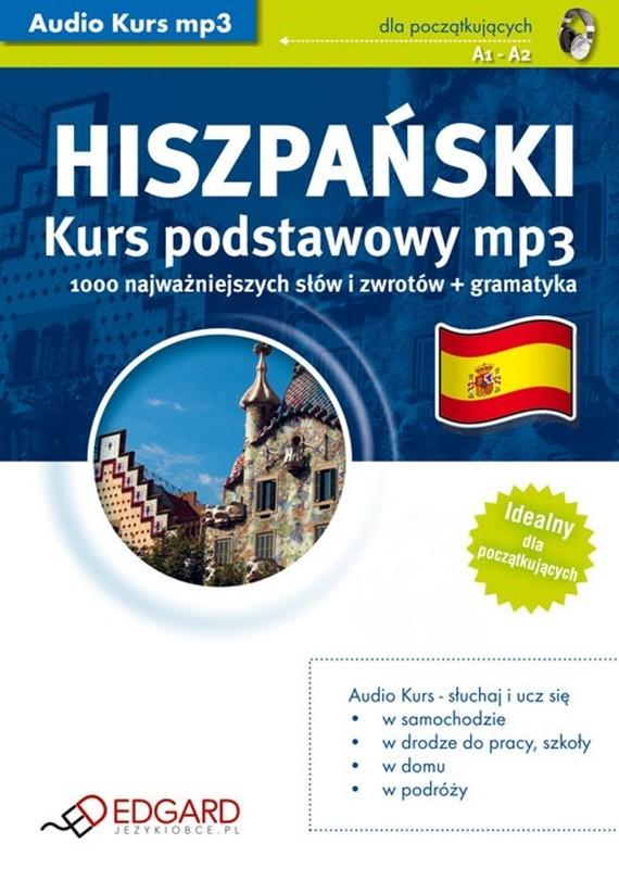 okładka Hiszpański Kurs podstawowyaudiobook | MP3 | autor zbiorowy