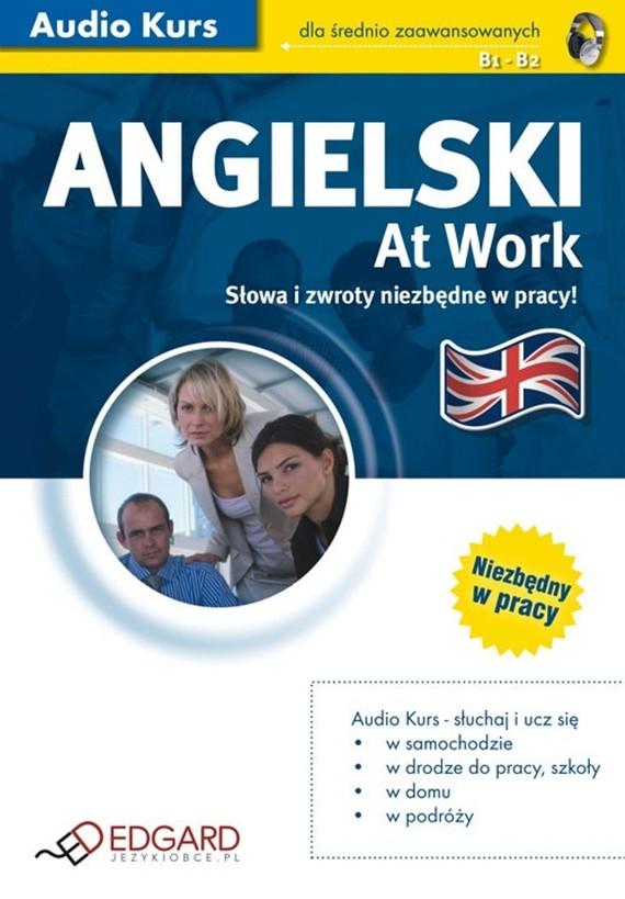 okładka Angielski At Work, Audiobook   autor zbiorowy