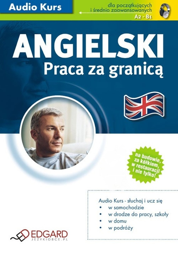 okładka Angielski - Praca za granicąaudiobook | MP3 | autor zbiorowy