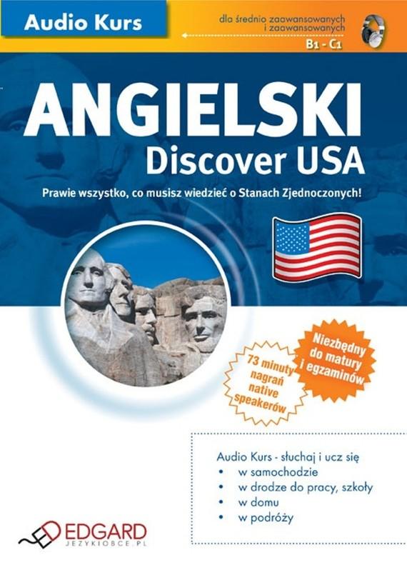 okładka Angielski - Discover USAaudiobook   MP3   autor zbiorowy