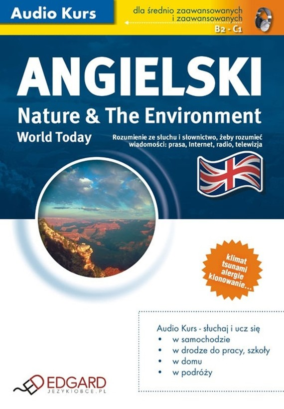 okładka Angielski World Today Nature and The Environmentaudiobook | MP3 | autor zbiorowy