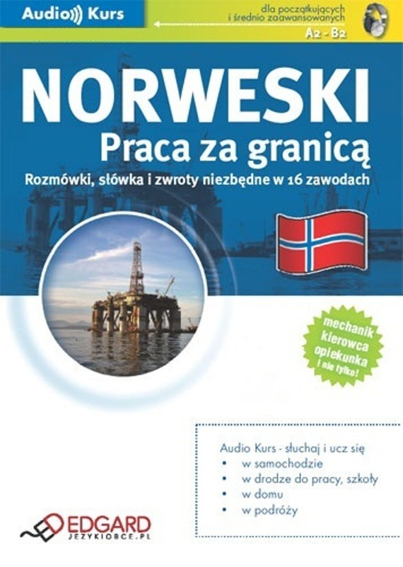 okładka Norweski Praca za granicą, Audiobook   autor zbiorowy