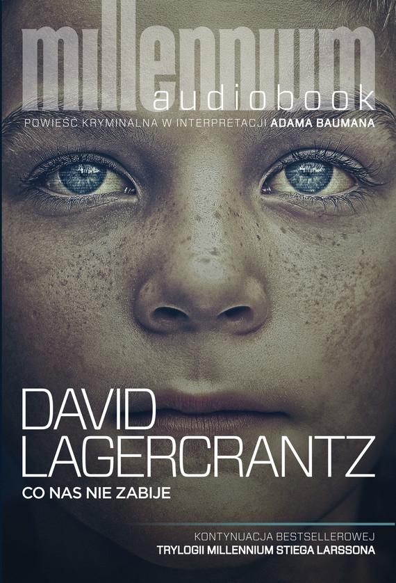 okładka Co nas nie zabije, Audiobook | David Lagercrantz