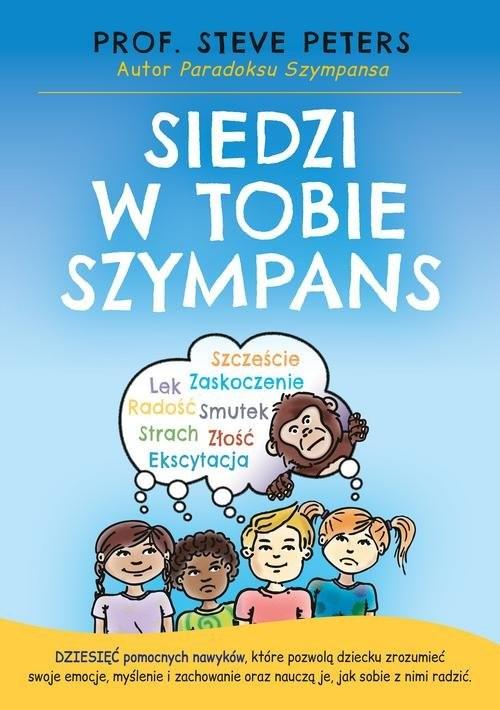 okładka Siedzi w tobie Szympansksiążka      Steve  Peters