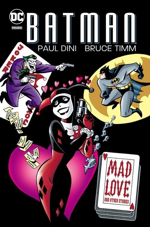 okładka Batman Mad Love, Książka | Dini Paul
