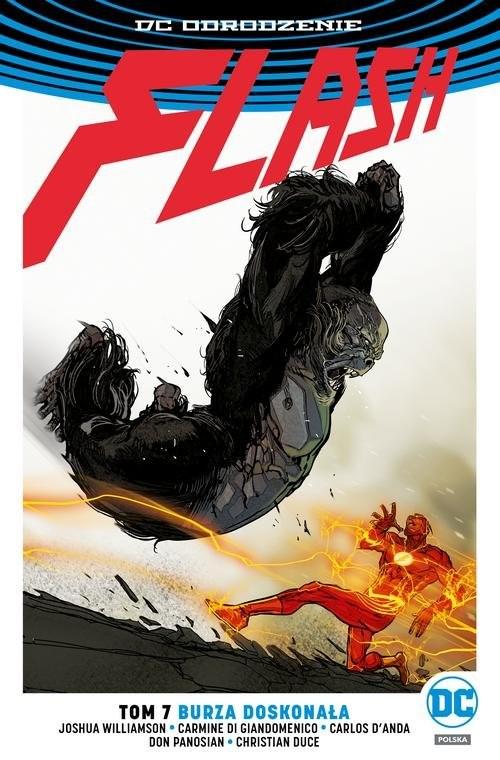 okładka Flash T.7 Burza doskonała, Książka | Williamson Joshua