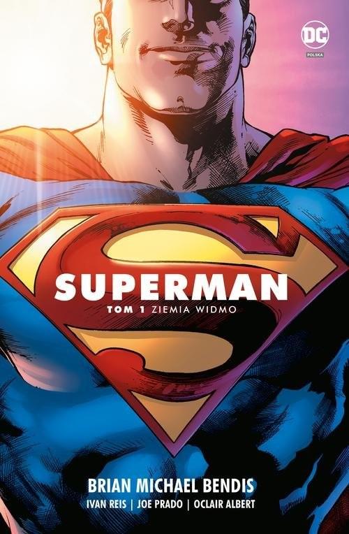 okładka Superman T.1 Ziemia widmo, Książka | Brian Michael Bendis