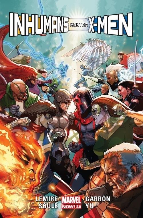 okładka Inhumans kontra X-Men, Książka | Jeff Lemire, Charles Soule