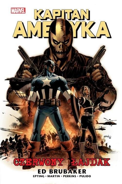 okładka Kapitan Ameryka T.2 Czerwony łajdak, Książka | Ed Brubaker