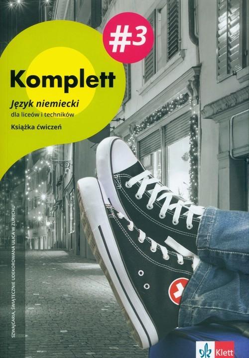 okładka Komplett 3 Ćwiczenia +DVD +CD, Książka | Gabriella Montalli, Daniela Mandelli, Czernoh
