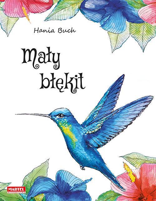 okładka Mały błękit, Książka | Buch Hania