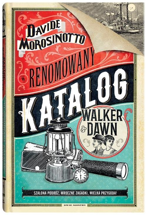 okładka Renomowany katalog Walker&Dawn, Książka | Morosinotto Davide