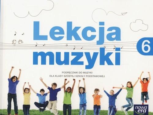 okładka Lekcja muzyki 6 Podręcznik Szkoła podstawowa, Książka | Monika Gromek, Grażyna Kilbach