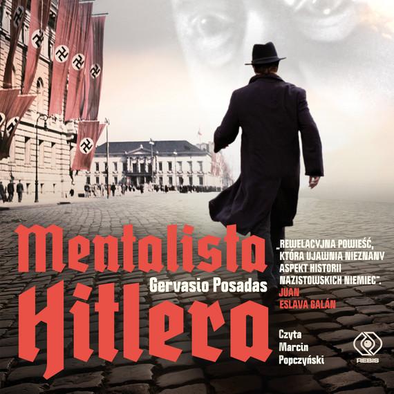 okładka Mentalista Hitleraaudiobook   MP3   Gervasio Posadas