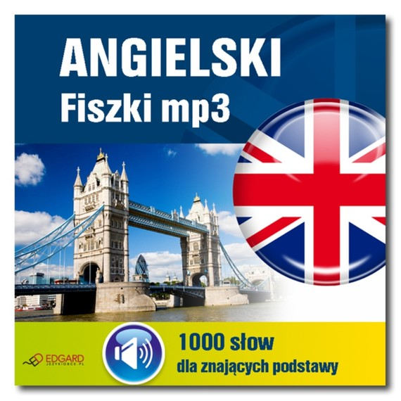okładka Angielski Fiszki mp3 1000 słówek dla znających podstawy, Audiobook | autor zbiorowy