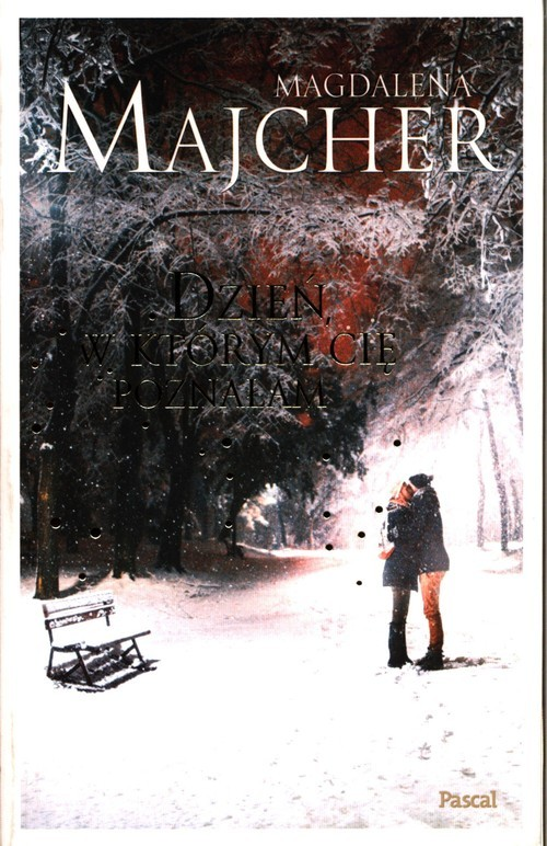 okładka Dzień, w którym Cię poznałam, Książka | Magdalena Majcher
