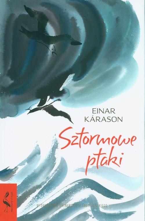 okładka Sztormowe ptaki, Książka | Kárason Einar