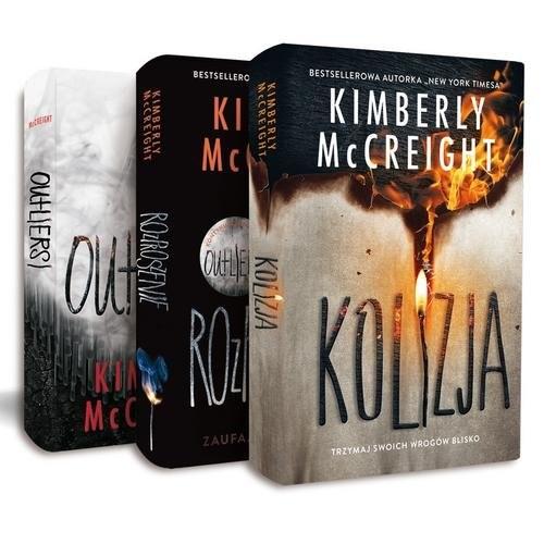 okładka Outliersi / Rozproszenie / Kolizja Pakietksiążka      McCreight Kimberly