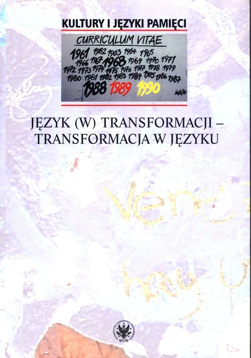 okładka Język (w) transformacji - transformacja w języku, Książka |