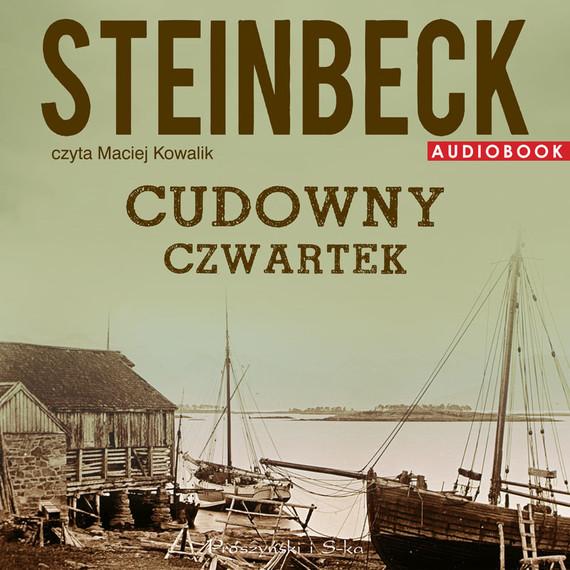 okładka Cudowny Czwartek, Audiobook   John Steinbeck